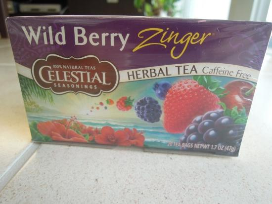 Celestial Seasonings Wild Berry Zinger Tea