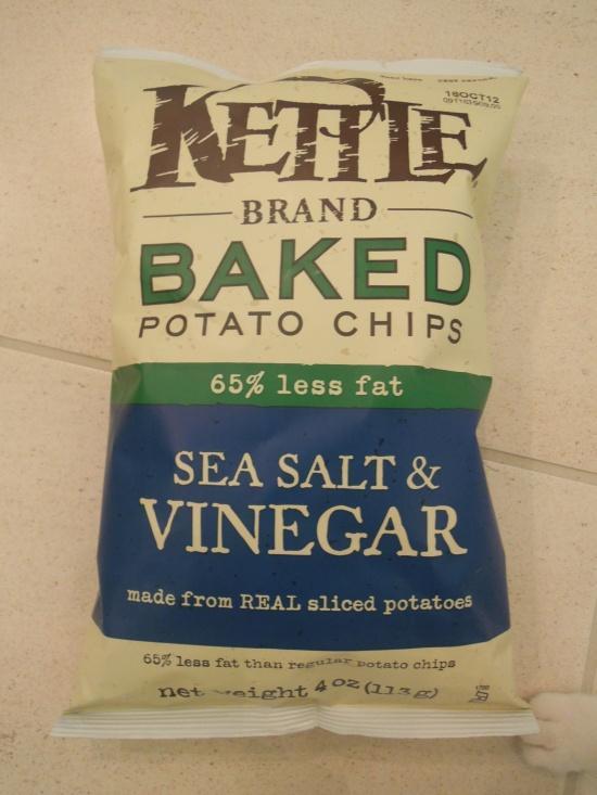 Kettle Foodsのポテトチップス-ソールト・ビネガー味